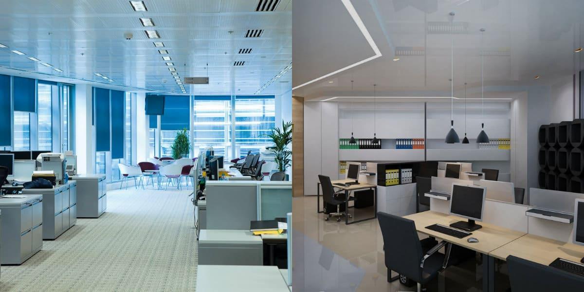 Дизайн офиса 2019: свет