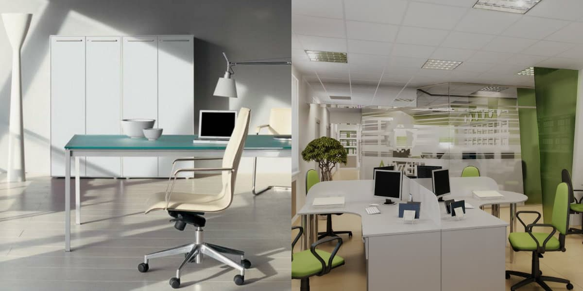 Дизайн офиса 2019: планировка