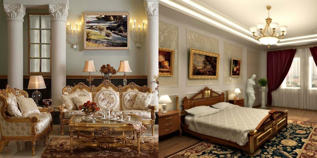 Классический стиль 2019: спальня