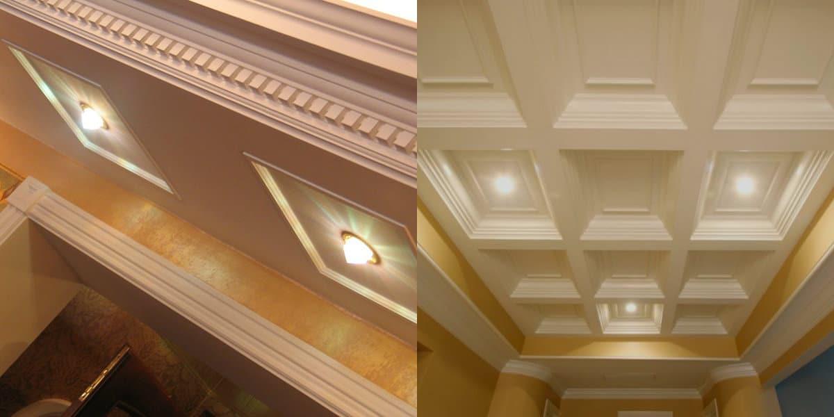 модные потолки 2019 : 3Д-конструкция