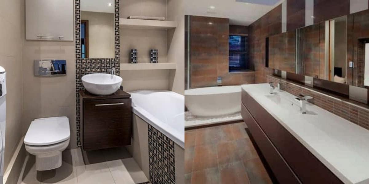 Плитка для ванной 2019: орнамент