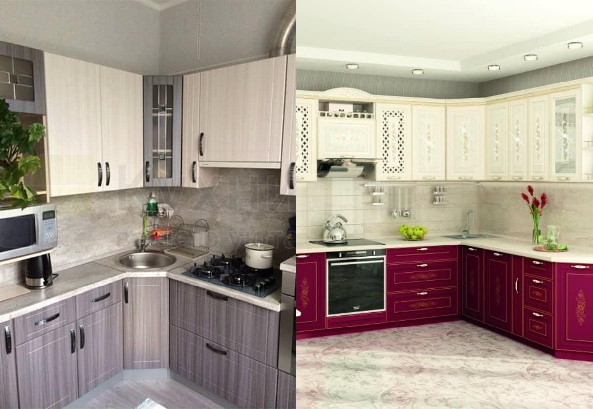 Угловая кухня 2019: модерн