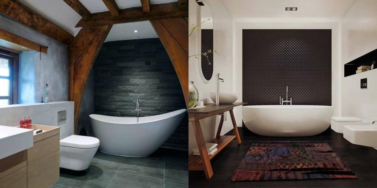 дизайн ванной 2019: необычная ванна