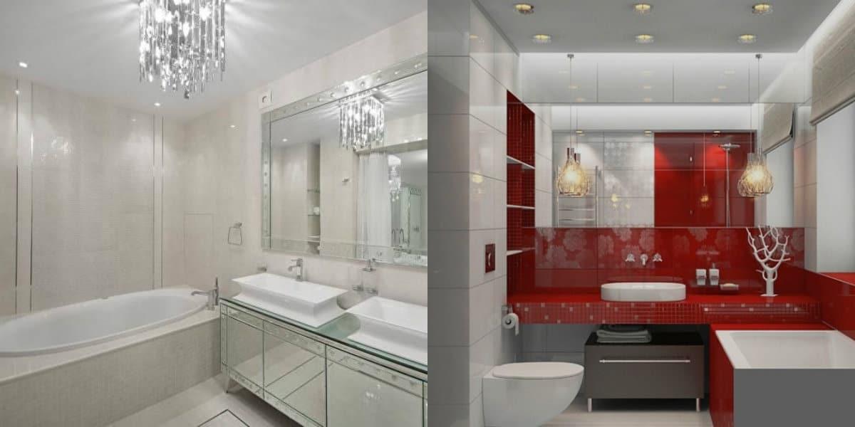 дизайн ванной 2019: цвет