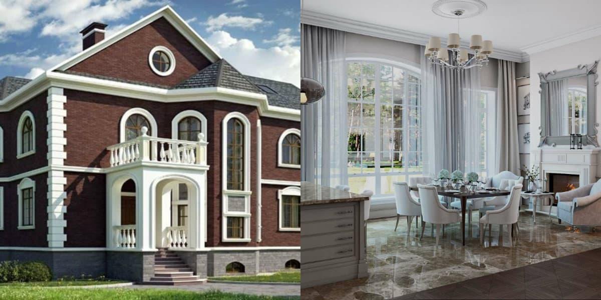 дизайн дома 2019: классика