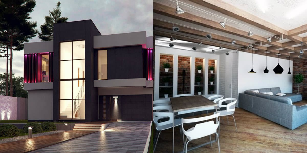 дизайн дома 2019: подсветка