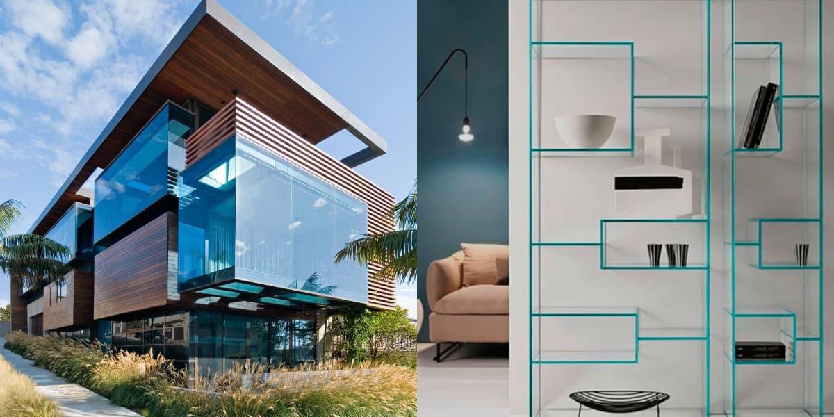 дизайн дома 2019: прозрачная мебель
