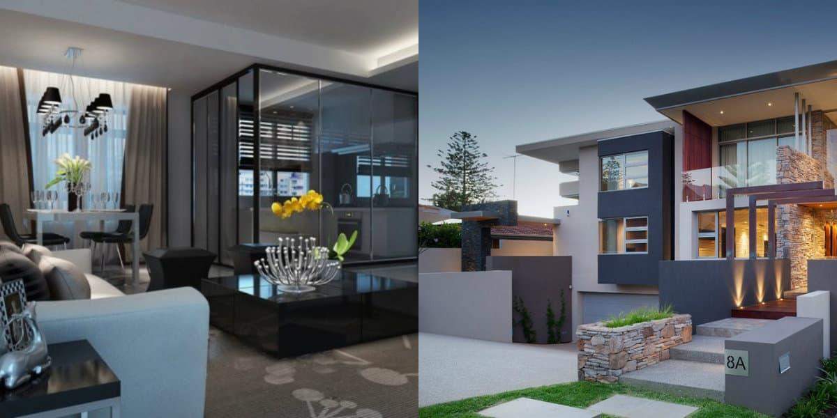 дизайн дома 2019: современный интерьер
