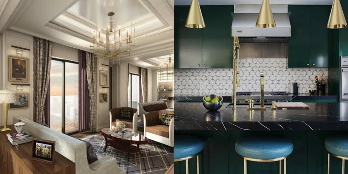 Дизайн интерьера 2019: кухня