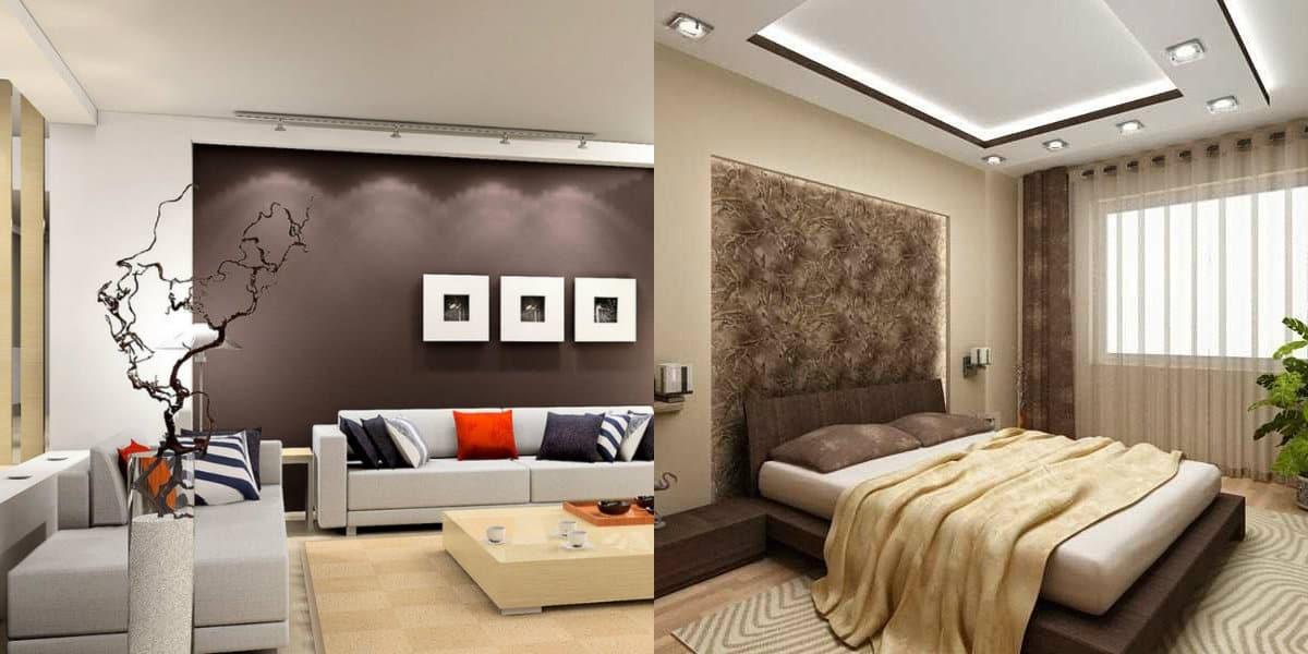 Дизайн интерьера 2019: спальня