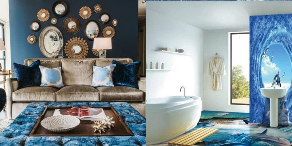 Дизайн интерьера 2019: ванная