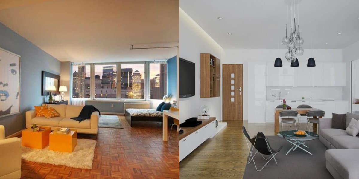 Дизайн квартиры в современном стиле 2019: цвет