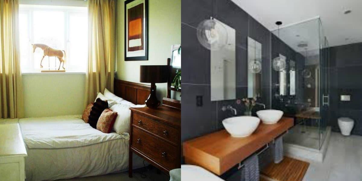дизайн квартиры в современном стиле 2019: ванная