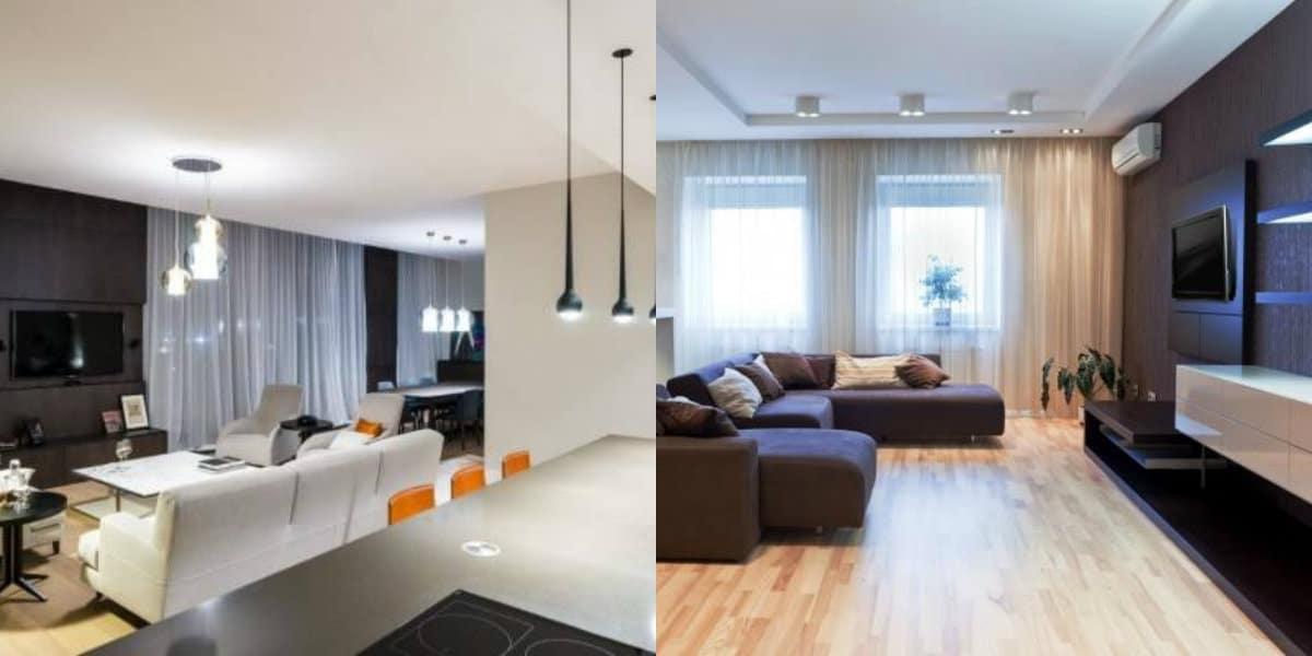 Дизайн квартиры в современном стиле 2019: пол