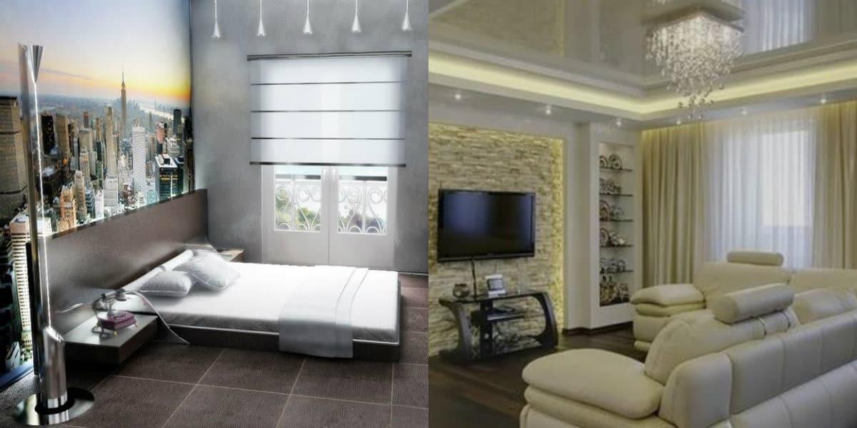 Дизайн квартиры в современном стиле 2019: текстиль