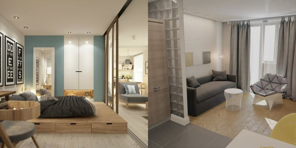Дизайн квартиры 2019: спальня