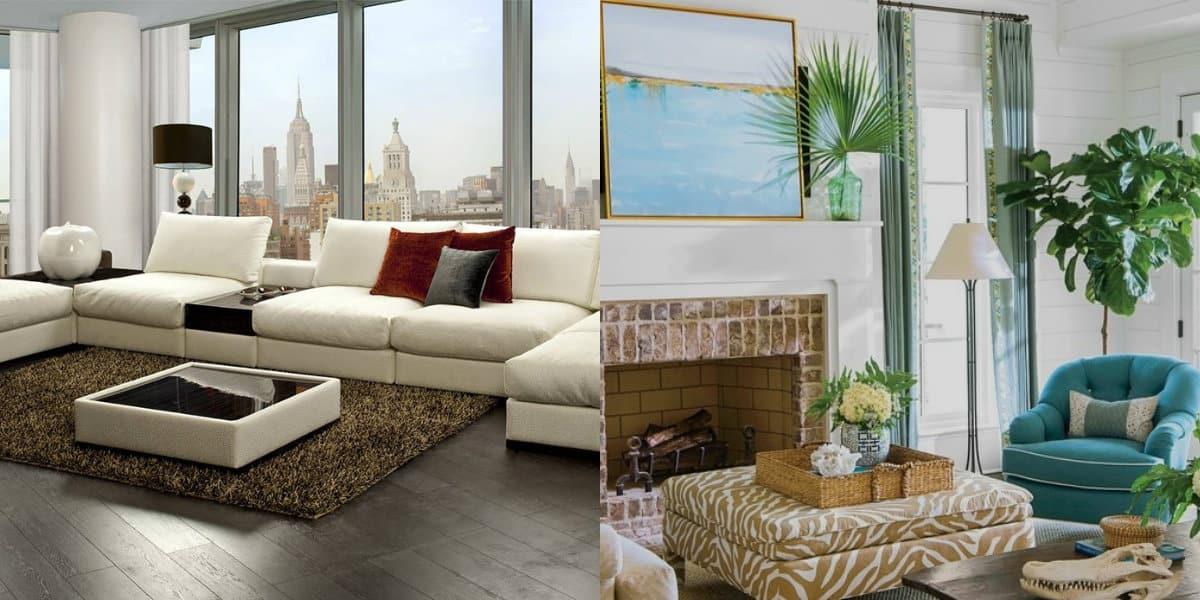 Дизайн квартиры 2019: цвет