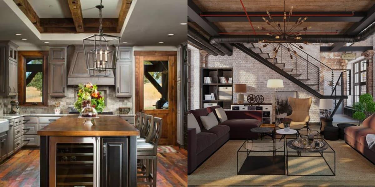 Дизайн квартиры 2019: лофт