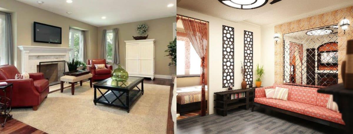 Дизайн квартиры 2019: этно-колорит