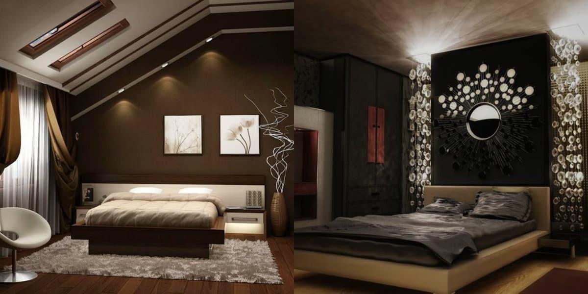 Интерьер спальни 2019: зеркала