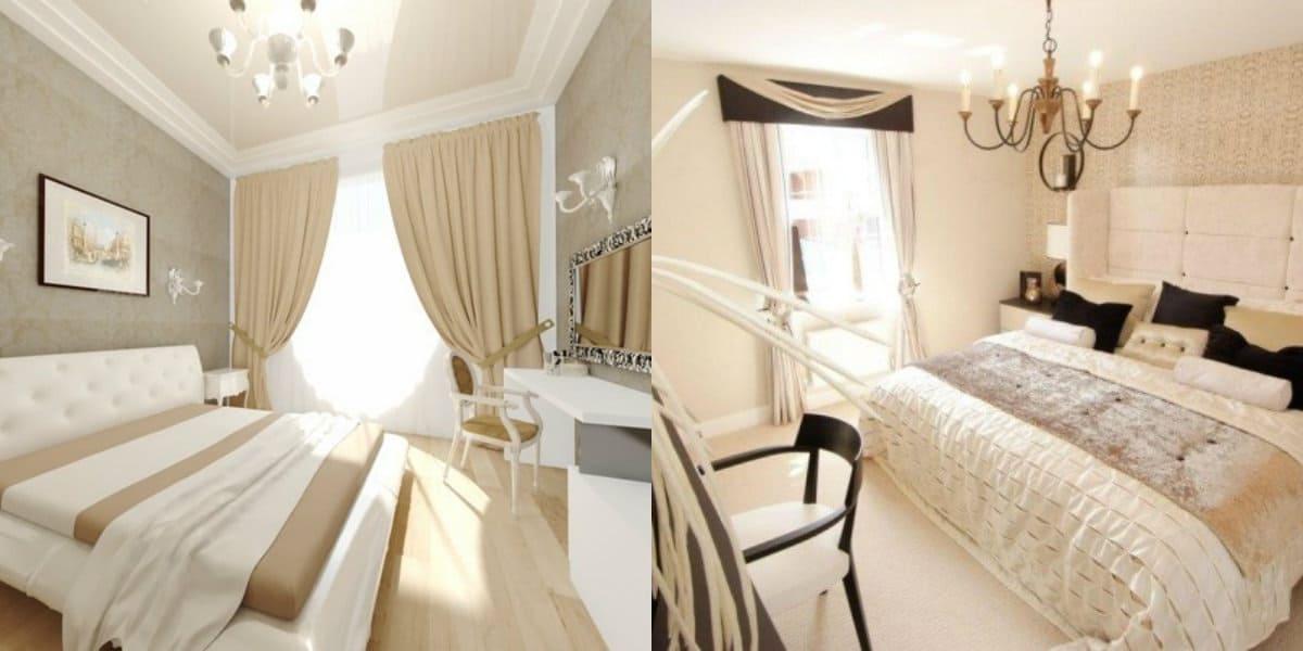 Интерьер спальни 2019: светлый дизайн