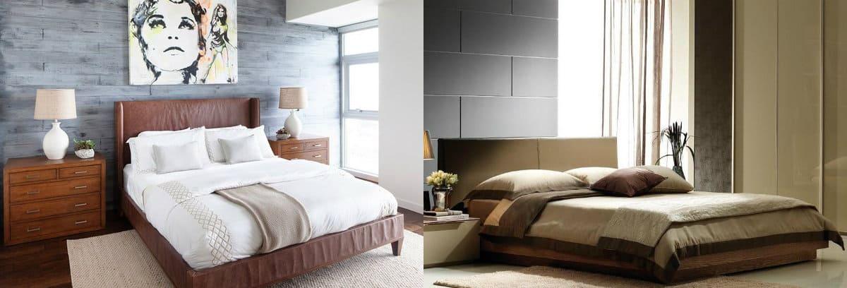 Интерьер спальни 2019: декор