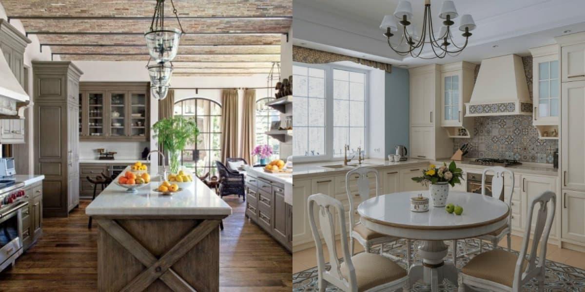 Классические кухни 2019: классическое кантри - Классические-кухни-2019-года-модный-интерьер-дизайн-фото