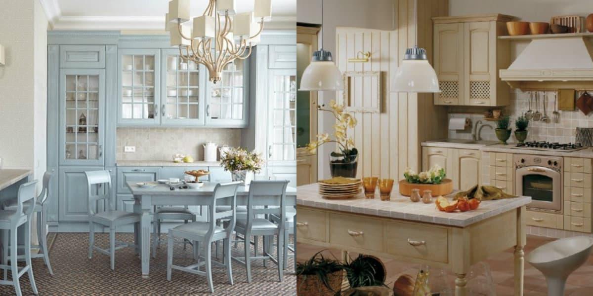 Классические кухни 2019: серый цвет