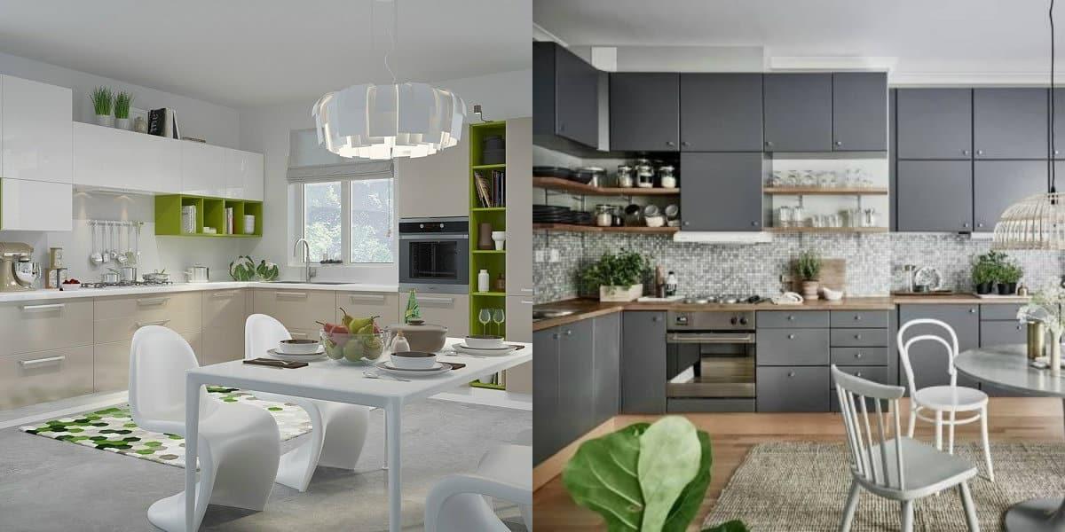 кухни угловые дизайн 2019 самые лучшие варианты планировки