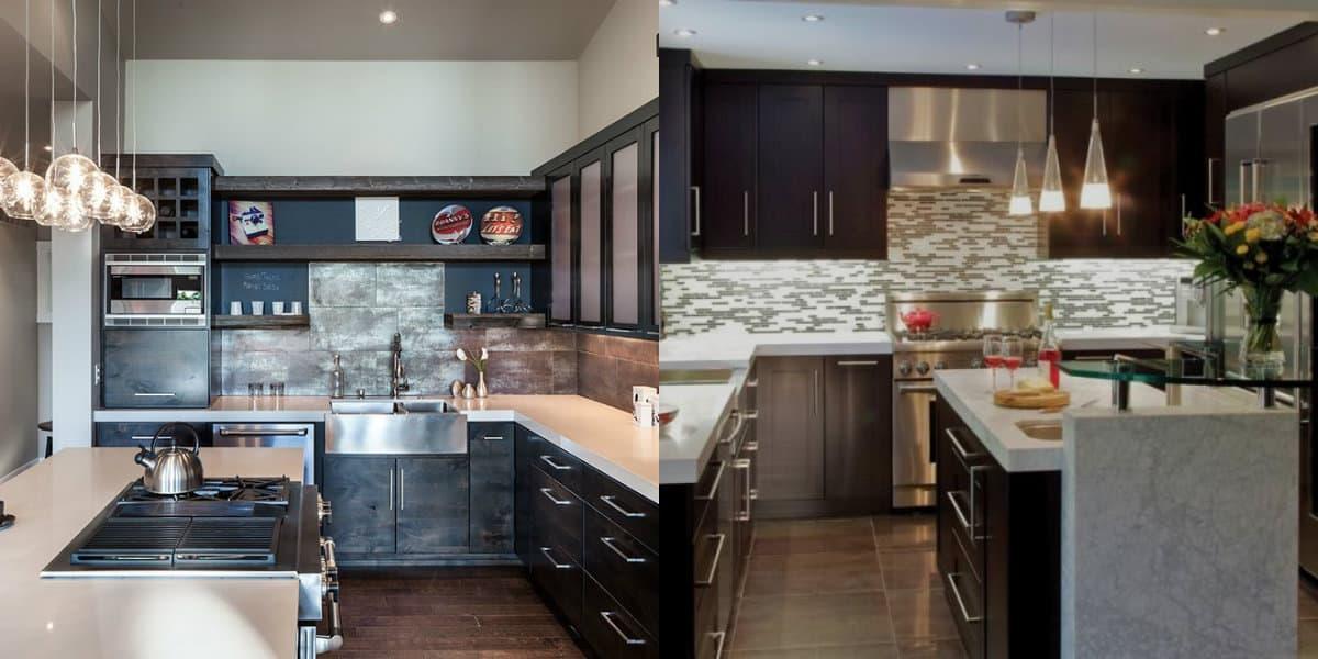 Кухни угловые дизайн 2019: миниатюрный вариант