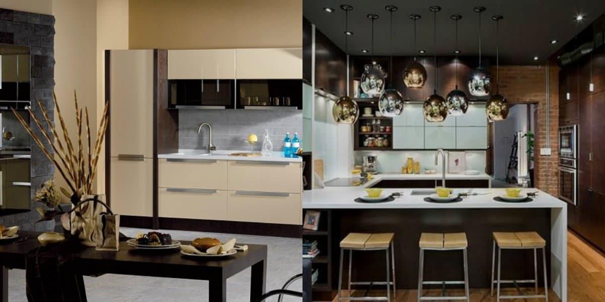 Кухонный гарнитур 2019: лофт