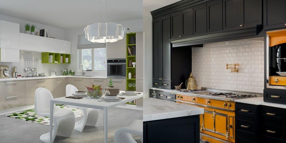Кухонный Гарнитур 2021: Цвет, Свежие Тренды и Модные Стили Дизайна