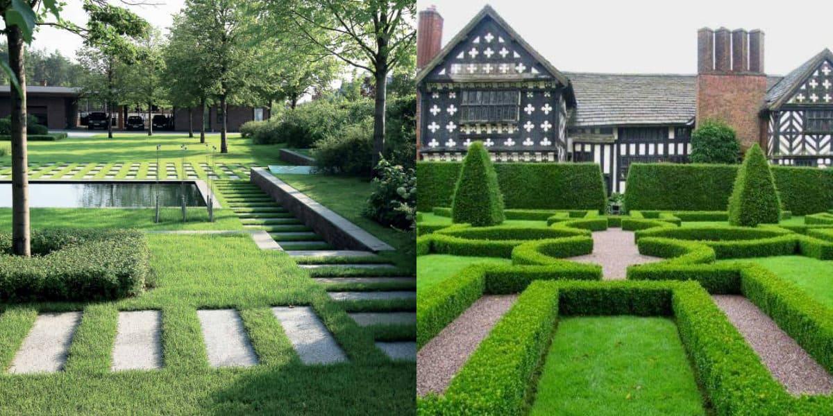 ландшафтный дизайн 2019: английский стиль