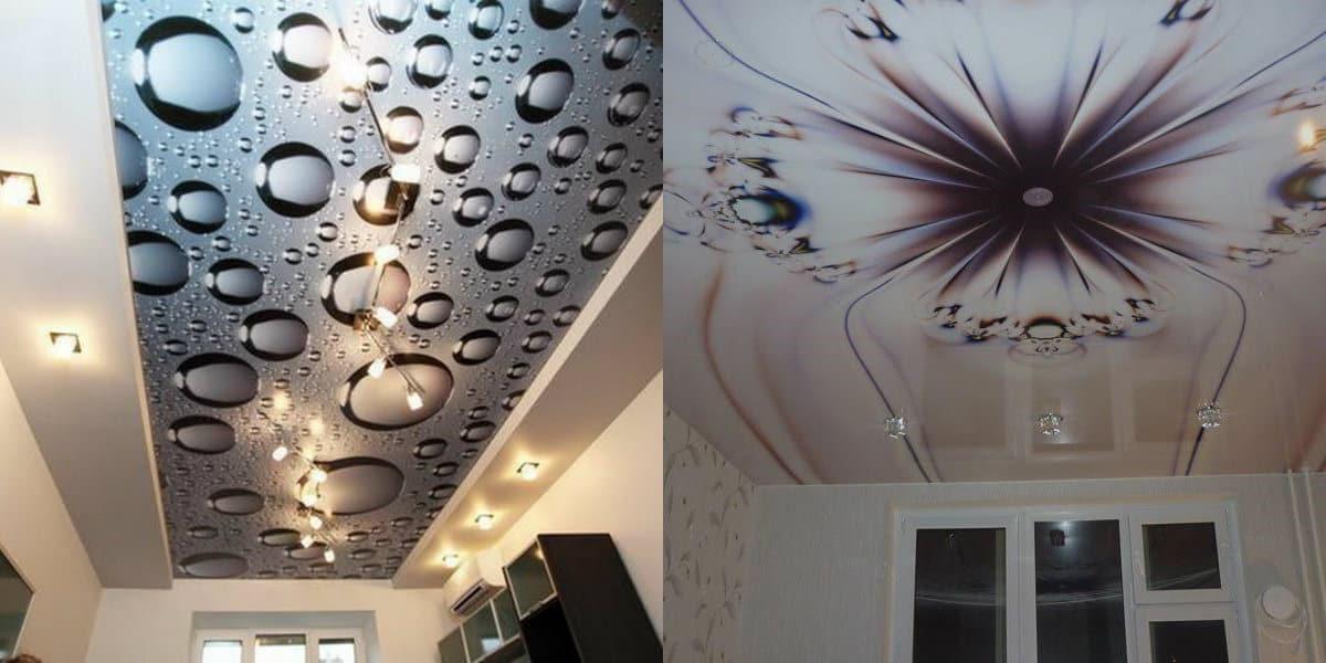 Натяжные потолки 2019: 3Д