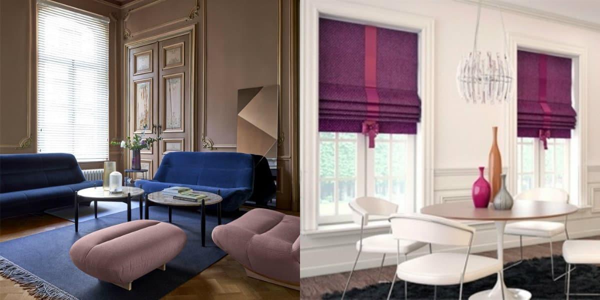 Модные цвета в интерьере 2019: лиловый