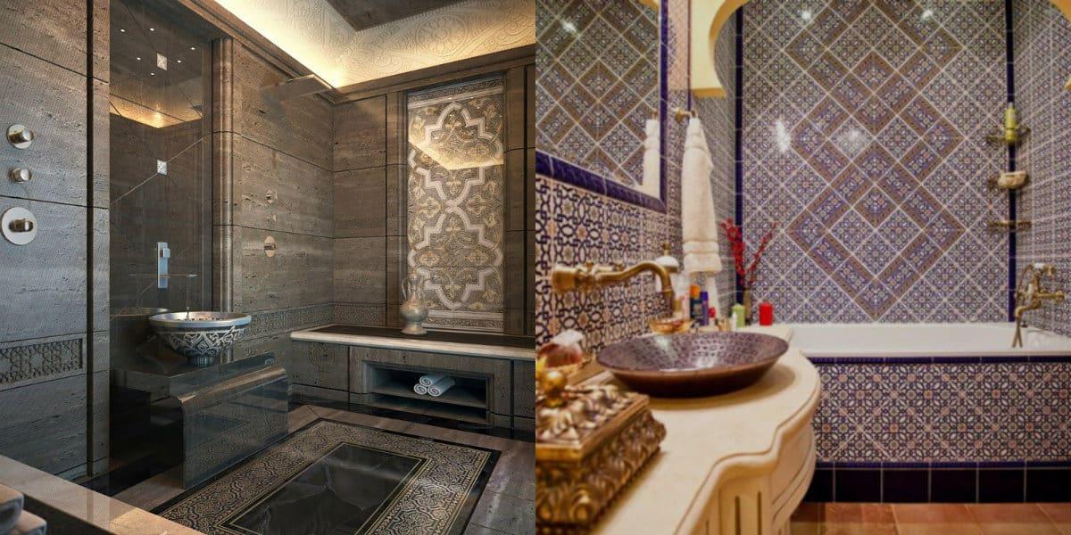 Ванная в арабском стиле: смеситель