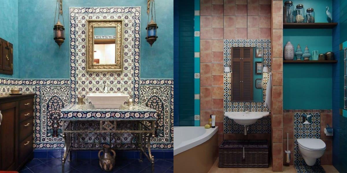 Ванная в арабском стиле: столешницы