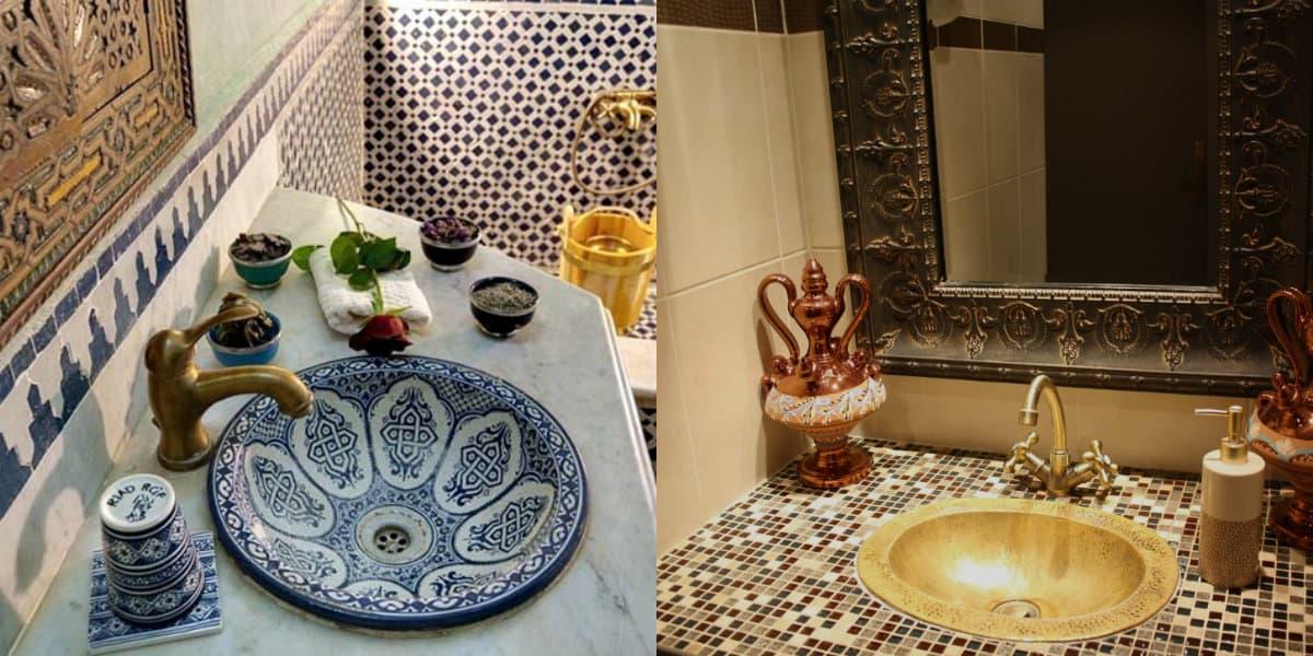 Ванная в арабском стиле: чаша