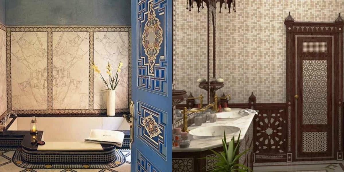 Ванная в арабском стиле: отделка