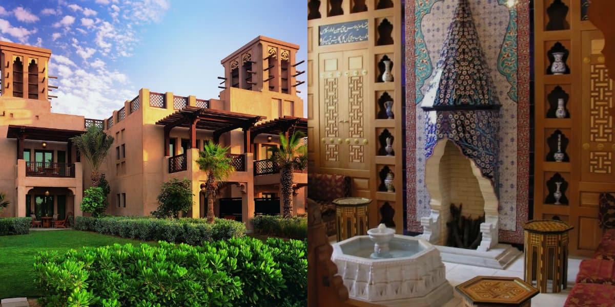 Дом в восточном стиле: мозаика