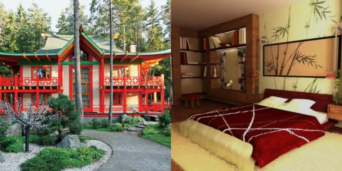 Дом в восточном стиле: экстерьер