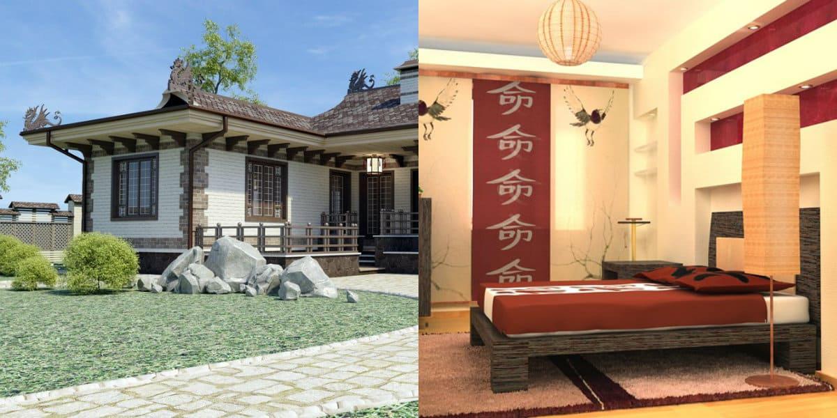 Дом в восточном стиле: японский стиль