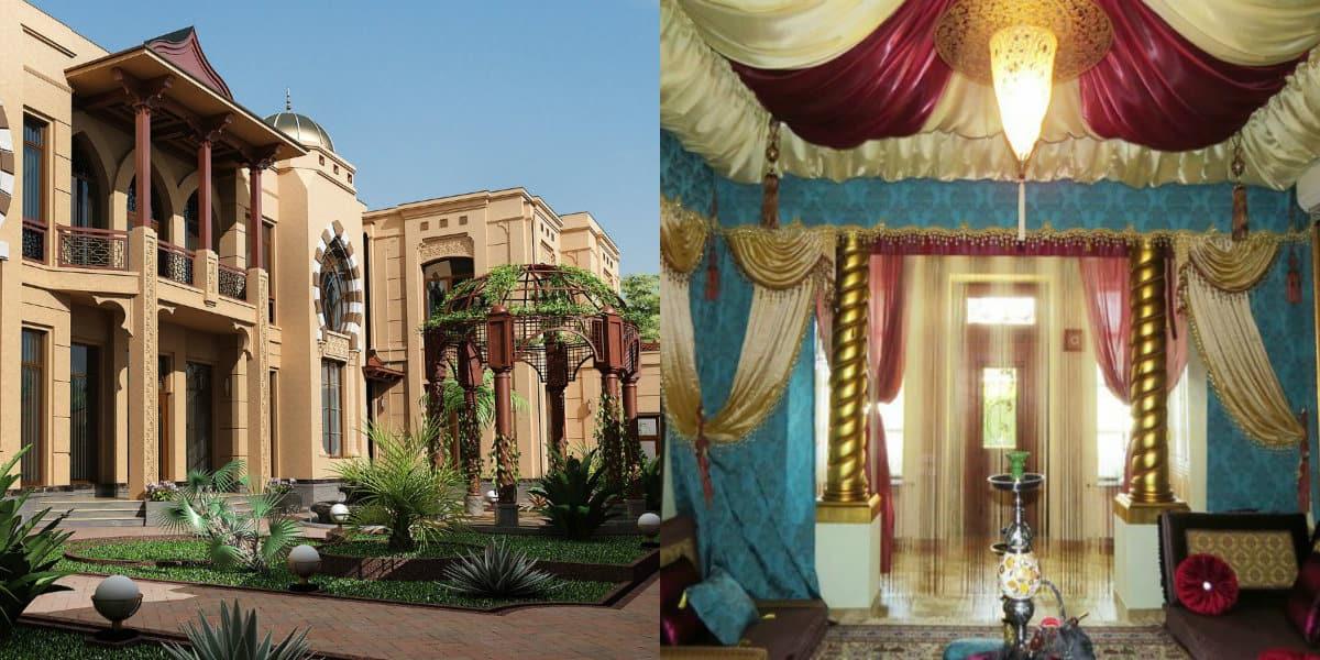 Дом в восточном стиле: мавританский особняк