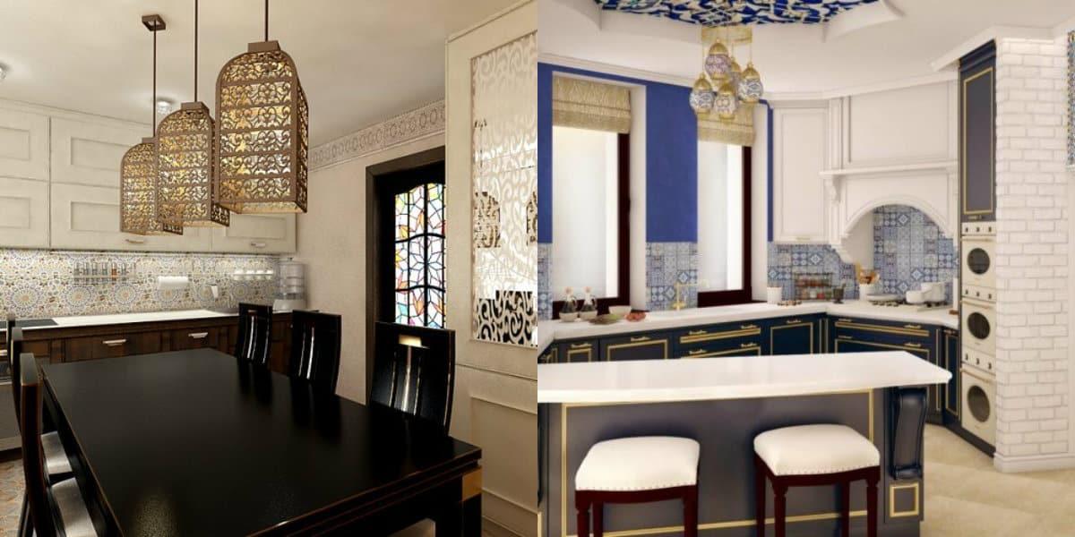 Кухня в арабском стиле: декор