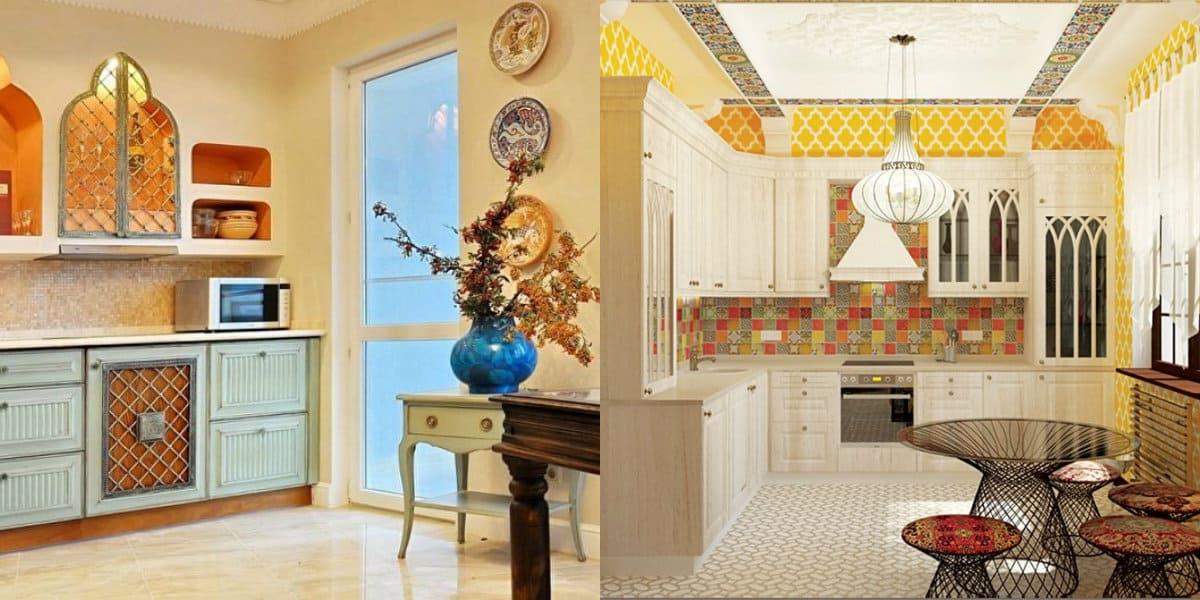 Кухня в арабском стиле: фасады