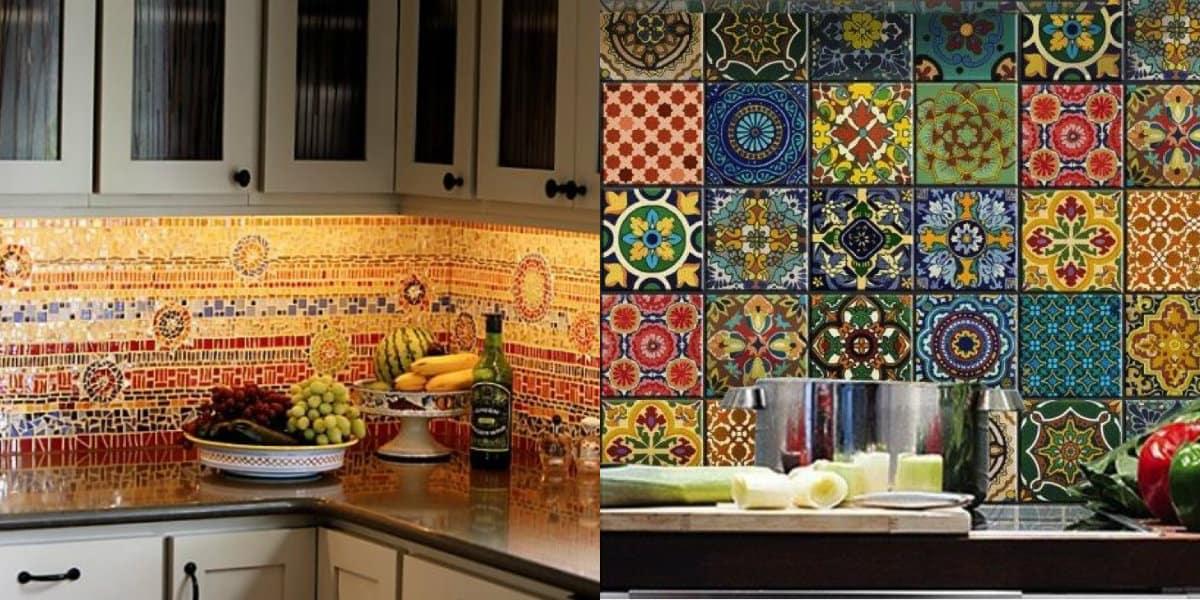 Кухня в арабском стиле: фартук