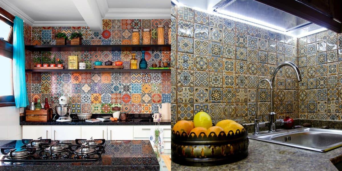 Кухня в арабском стиле: мойка