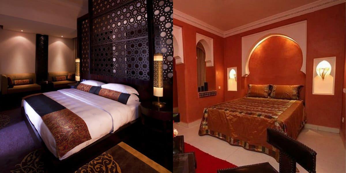 Спальня в восточном стиле: цвет