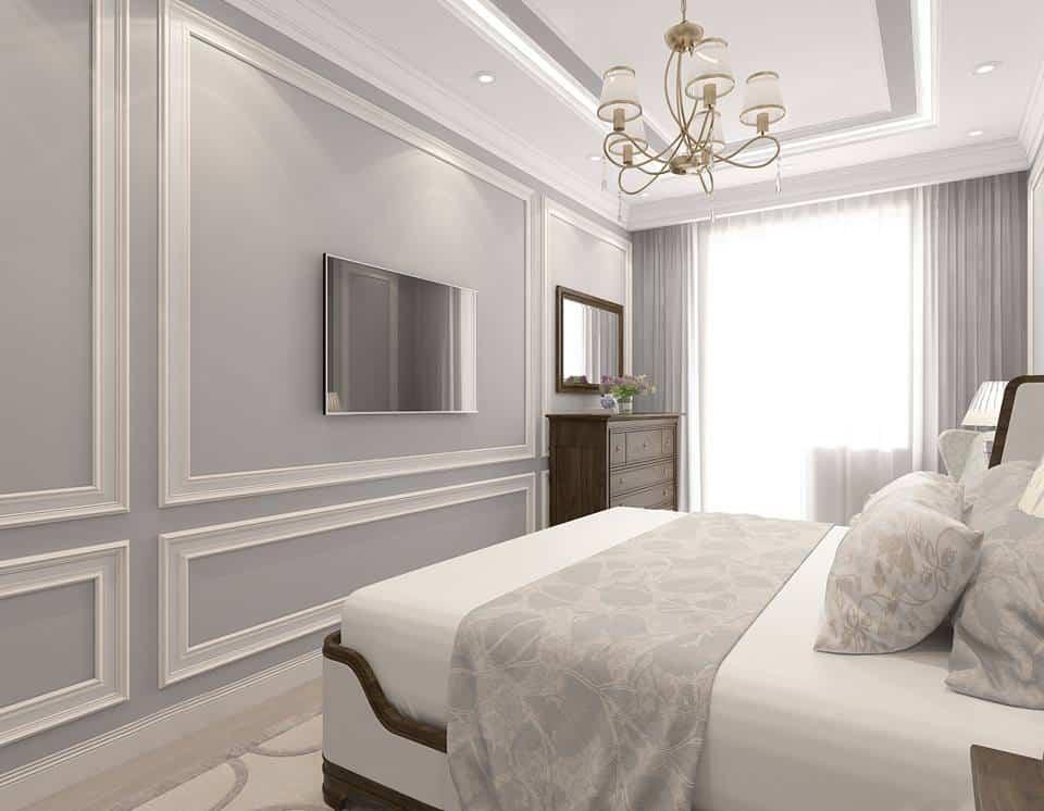 Интерьер-спальни-фото-2019-современные-идеи-обои-и-шторы