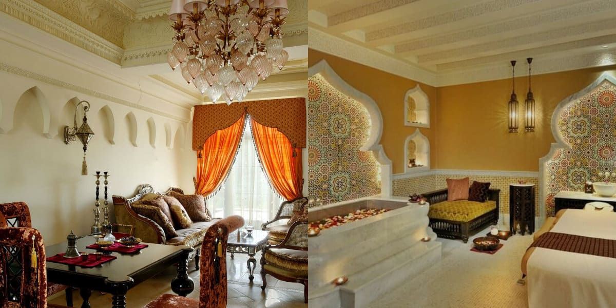 арабский стиль в интерьере: ванна